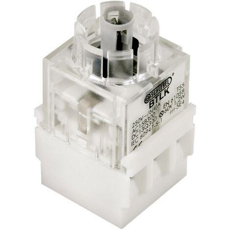 Élément de contact Schlegel BTL5K BTL5K avec culot dampoule 1 NF (R), 1 NO (T) à rappel 250 V 1 pc(s)