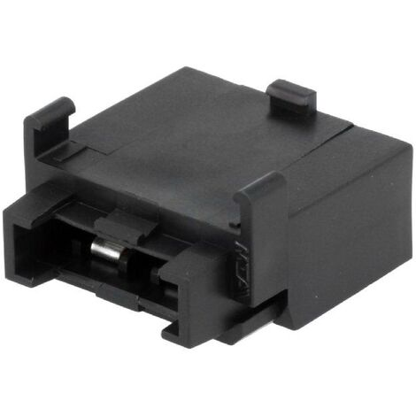 Element de porte-fusible - Max 40A - polyamide - noir - UNIVAL ADNAuto