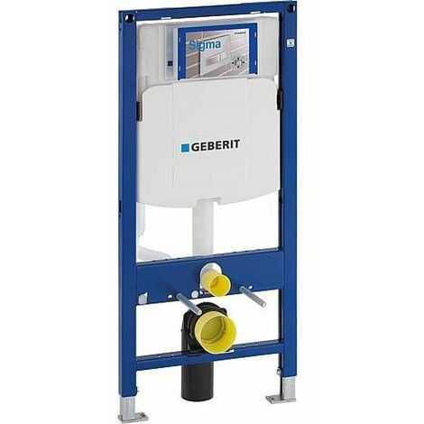Element Geberit Duofix pour WC, 1120mm, avec réservoir de chasse encastré Sigma