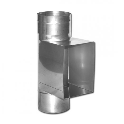 Schornsteinsanierung Edelstahl Kaminrohr Abgasrohr einwandig 0,6mm V4A 1000 mm DN 200