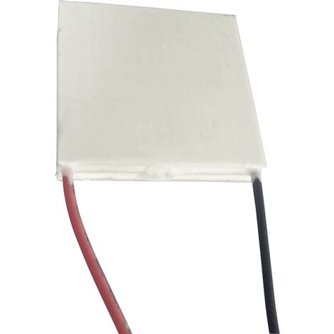 Elément Peltier TRU COMPONENTS TEC2-127-63-04 à plusieurs étages 14.6 V 4.2 A 26 W (A x B/C x D/H) 40 x 40/40 x 40/8.1 mm 1 pc(s) Q60976