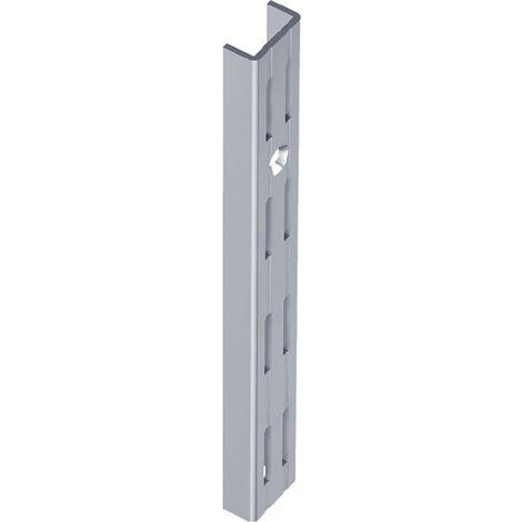 ELEMENT SYSTEM 10001-00010 Wandschiene Länge 1000 mm weiß Stahl zweireihige Loc