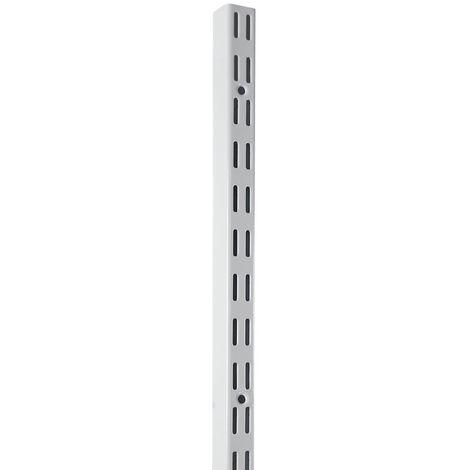 Element System 32 Schiene STARK 2-reihig H 800 weiß glatt gekürzt