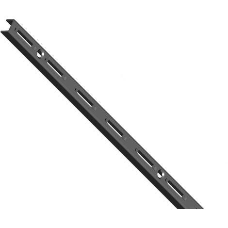 Element System 50 Wandschiene 1-reihig H 500 schwarz