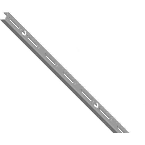 Element System 50 Wandschiene 1-reihig H 500 weißalu