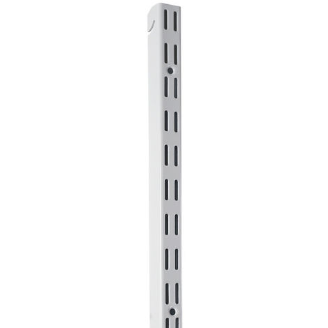 Element System Easy 32 Hängeschiene H 1000 weiß glatt