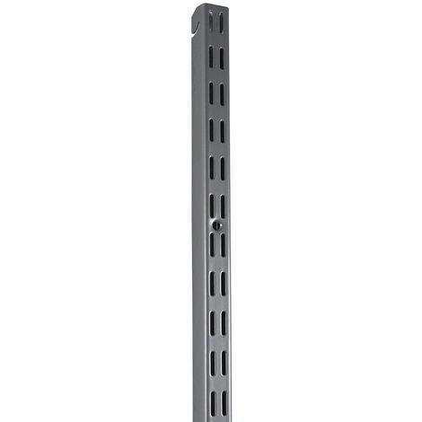 Element System Easy 32 Hängeschiene H 1600 weißalu glatt gekürzt