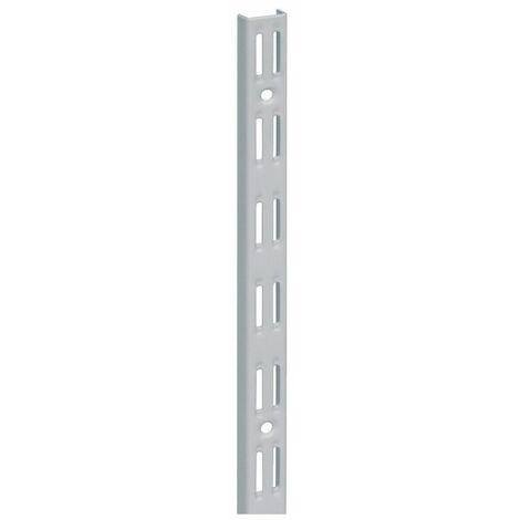 """main image of """"ELEMENT SYSTEM Muro. L.2000mm alluminio bianco STA perforazione a doppia fila in alluminio bianco STA"""""""