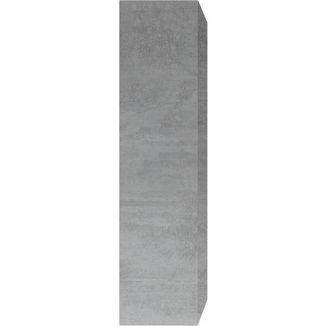 Elemento de pared TV vertical lacado blanco ETERNEL