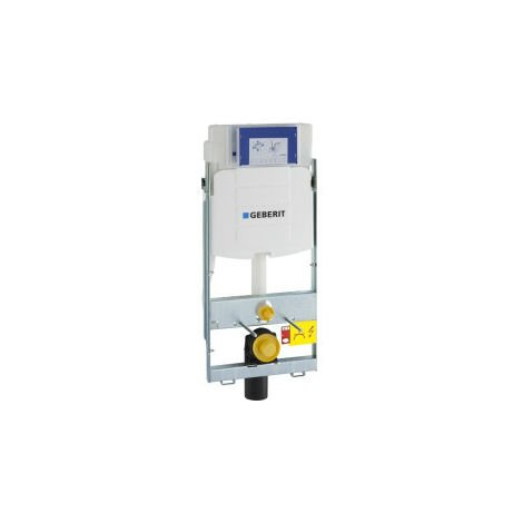 Elemento de WC de pared GIS Geberit UP320 de 114 cm, con cisterna Sigma UP de 12 cm, para accionamiento frontal - 461.311.00.5