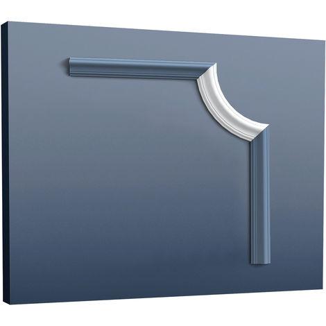 Elemento decorativo de estuco para cornisa moldura marco perfil Orac Decor P8030C LUXXUS Elemento angular