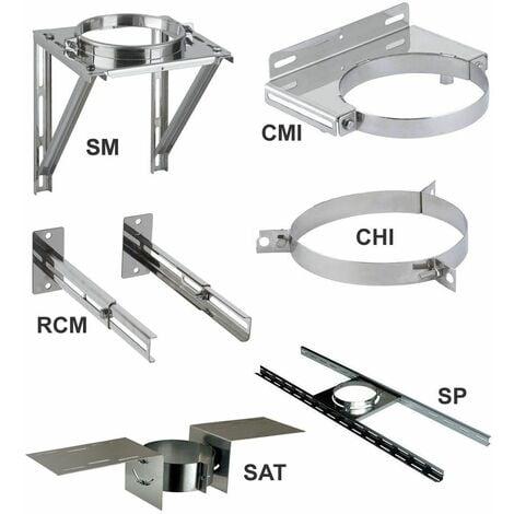 Elements de support et de maintien THERMINOX TI - Maintien au toit - diamètre intérieur 130 - réf. SAT