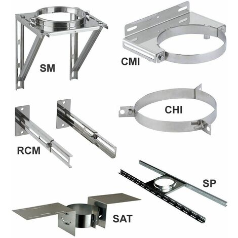 Elements de support et de maintien THERMINOX TI - Support plancher - diamètre intérieur 150 - réf. SP