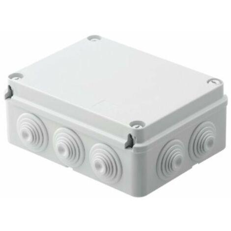 ELERGY 4007 CASSETTA DERIVAZIONE CON PASSACAVI COPERCHIO A VITE 190X140X75MM IP55