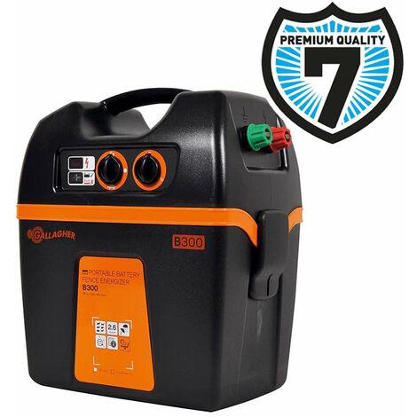 Elettrificatore B300 a batteria 9V o 12V per recinzioni fino a 8 km professional