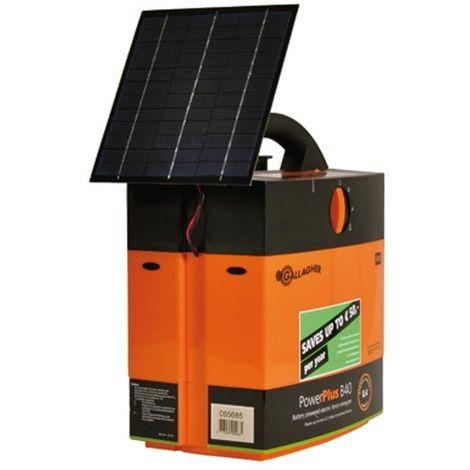 Elettrificatore B40 con pannello solare 4W professionale recinzioni fino a 2km