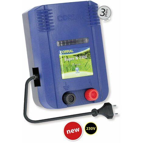 Elettrificatore CORRAL SUPER N2300 a corrente 230V per recinzioni fino a 17 km p