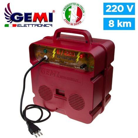 Elettrificatore E/220 EXTRAFORTE Per Recinti Elettrici Recinzioni Elettrificate Recinzione Da Pascolo 220 V Per Animali Cinghiali Cavallo Mucca Maiali
