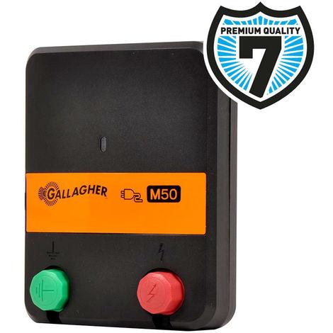 Elettrificatore M50 a rete da 230V professionale per piccole recinzioni fino 2km