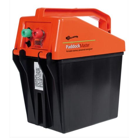 Elettrificatore Paddock master portatile a batteria ideale fino a 1km