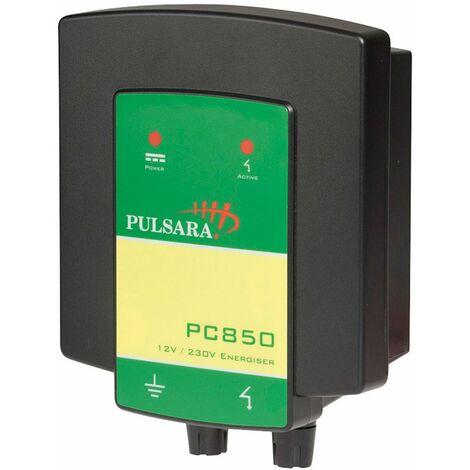 Elettrificatore PC850 a batteria 12V e a corrente 220V recinzioni fino a 1.5 km