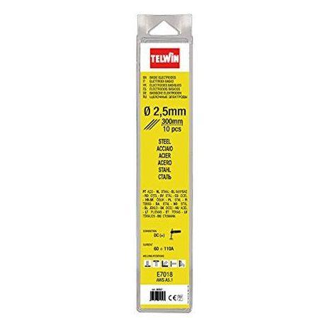 Elettrodi per saldatura Telwin da 3,2 mm confezione da 10