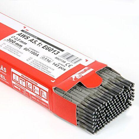 Elettrodi basici AWS 7018 per saldatura in DC 3,20x450 scatola da 130 pezzi