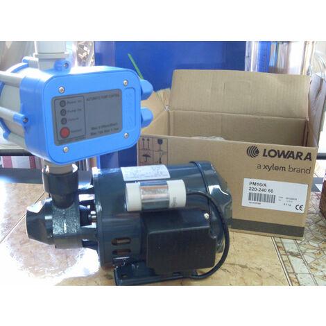 Elettropompa lowara pm16 + presscontrol incluso pompa motore acqua autoclave