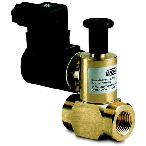 Elettrovalvola gas da mezzo pollice NA Perry 1EVEV020