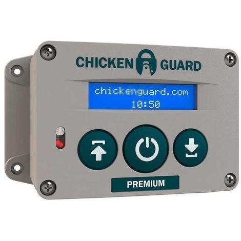 Elevador automático para puerta de gallineros