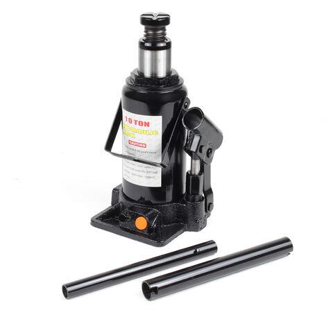 Elevador carga hidráulico Hasta 10T Gato hidráulico vehículos Elevador botella coche Taller mecánico