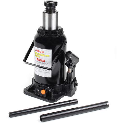 Elevador carga hidráulico Hasta 20T Gato hidráulico vehículos Elevador botella coche Taller mecánico