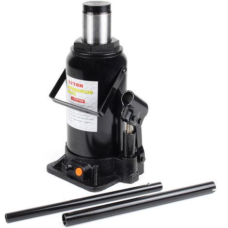Elevador carga hidráulico Hasta 32T Gato hidráulico vehículos Elevador botella coche Taller mecánico