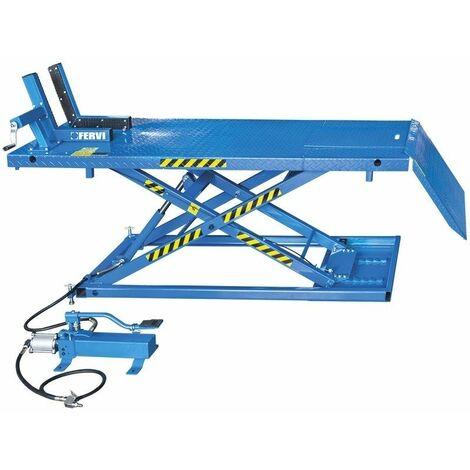 Elevador hidráulico. Capacidad de elevación 600kg FERVI S013
