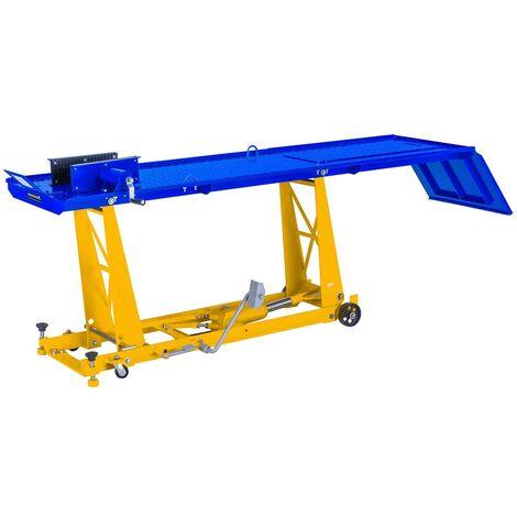 """main image of """"Elevador hidráulico para motos con Rampa - 450kg - 190 x 53 cm"""""""