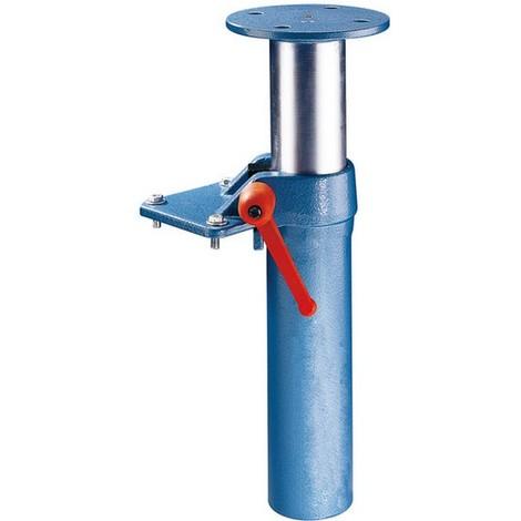 Elévateur, automatique par vérin à gaz, Pour Larg. : de mors : 160 mm, Pas des trous 145 mm, Dimension des trous M14, Poids : 9,4 kg