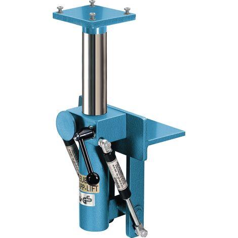 Élévateur escamotable à hauteur réglable Pour largeur de mâchoire 140 mm rabattable et rotatif à 360°