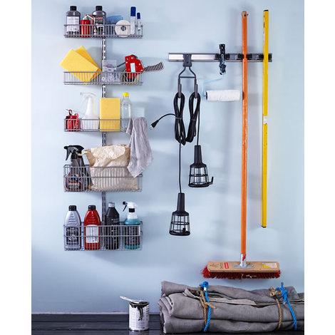 Elfa Utility Room / Garage Starter Kit - White