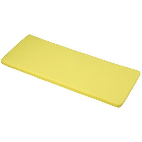 Elfin Yellow 2 Seater bench cushions 116x46x4cm