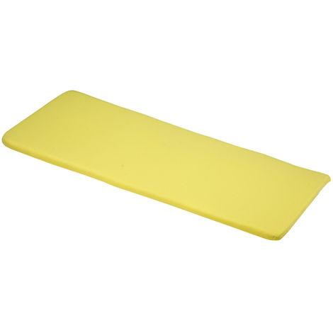Elfin Yellow 3 Seater bench cushions 141x48x4cm