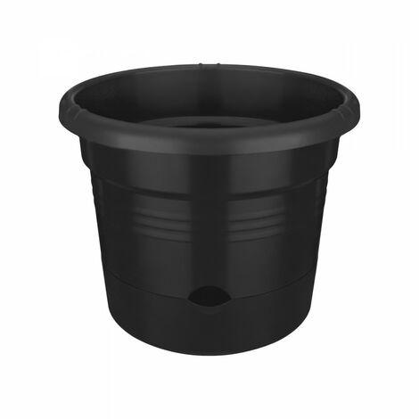 ELHO Pot a tomate Green Basics - 33 cm - Noir vif