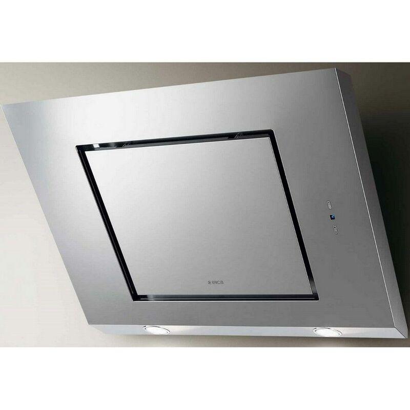 hotte décorative inclinée 80cm 515m3/h inox - prf0006872a - Elica