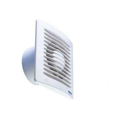 ELICENT WALL-MOUNTED HELICAL EXTRACTOR FAN ESTYLE 100 PERFORMANCE WHITE E-STYLE 100 P 2MU7069