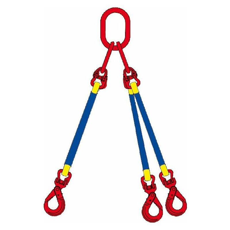 Banyo - Elingue cable 2 m 3 brins, WLL 4200 kg jusqu'a 45° 3000 kg jusqu'a 60°