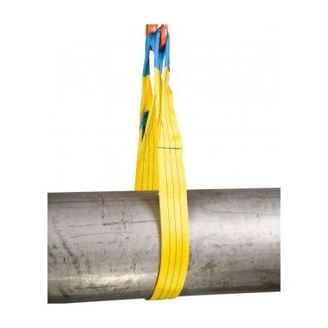Elingue sangle plate - CMU 3000 kg - Longueur utile : 1M5