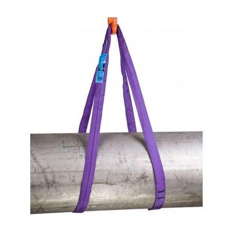 Elingue sangle polyester - CMU 1000 kg - plusieurs longueurs
