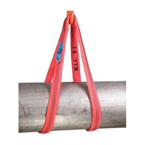 Elingue sangle polyester - CMU 5000 kg - plusieurs longueurs