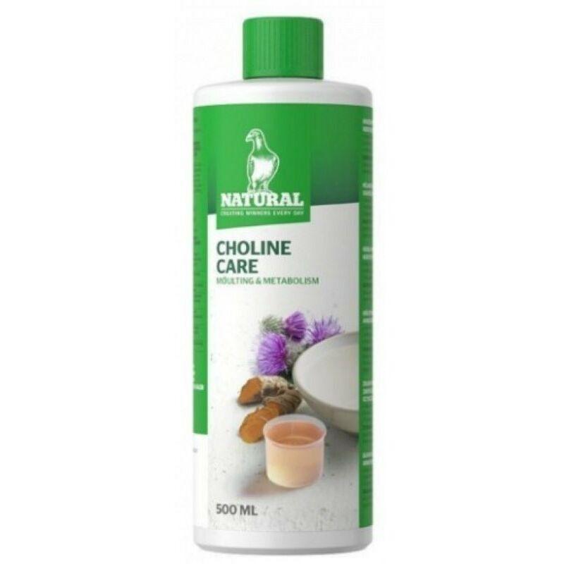 élixir d'herbes aromatiques pour pigeons CHOLINE CARE 500 ml - Natural