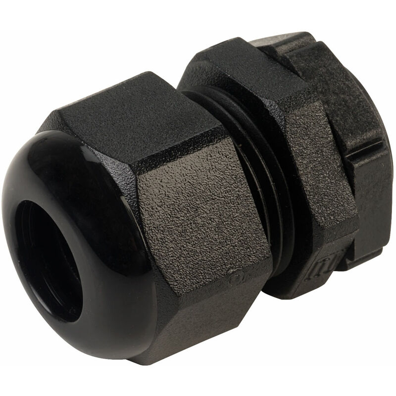 Image of ESP1112BLN Euro Index Cable Gland PG11 Black - Elkay