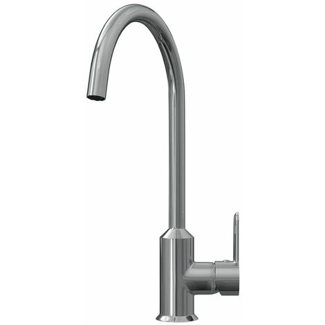 Ellsi Entice Kitchen Mixer Swivel Spout Sink Tap Lever Mono Polished Chrome
